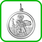 St Christopher Pendant Birmingham - St Christopher Pendant Jewellery Quarter