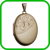 Gold Lockets Birmingham - Gold Lockets Jewellery Quarter